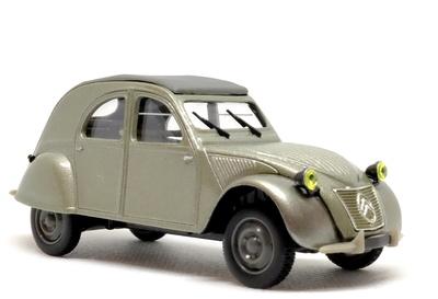 Citroen 2CV Prueba inicio de producción (1949) Norev-Hachette 1/43