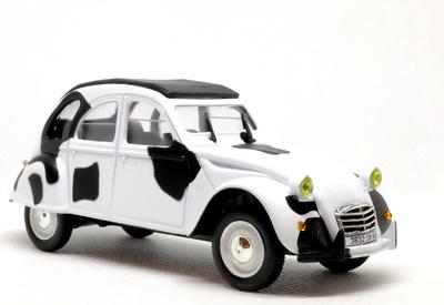 """Citroen 2CV """"Vaca"""" (1967) Norev-Hachette 1/43"""