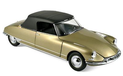 Citroen DS19 Cabriolet (1961) Norev 1:18