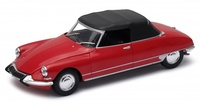 Citroen DS19 Cabriolet con Capota (1961) Welly 1:24