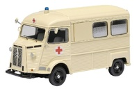 "Citroen HY Ambulancia ""Cruz Roja"" Schuco 1/43"