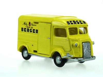 "Citroen HY Furgón ""Berger"" Norev 1/87"
