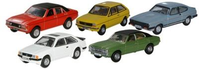Conjunto 5 modelos Ford Oxford 1/76