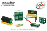 Conjunto de herramientas Auto Body Shop Turtle Wax Greenlight 1/64