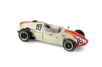 "Cooper T51 ""4º GP. Mónaco"" nº 18 Tony Brooks (1960) Brumm 1/43"
