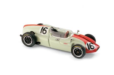 """Cooper T51 """"GP. Mónaco"""" nº 16 Chris Bristow (1960) Brumm 1/43"""