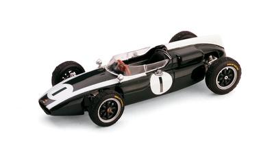 "Cooper T53 ""1º GP. Gran Bretaña"" nº 1 Jack Brabham (1960) Brumm 1/43"