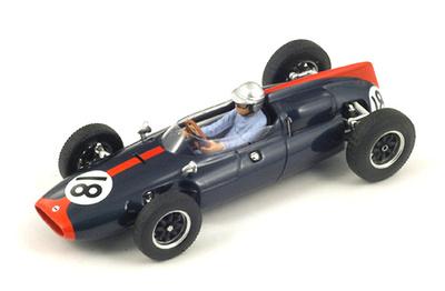 "Cooper T53 ""GP Alemania"" nº 18 John Surtees (1961) Spark 1:43"