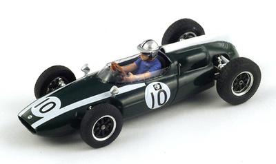 "Cooper T53 ""GP. Mónaco"" nº 10 Bruce McLaren (1960) Spark 1/43"