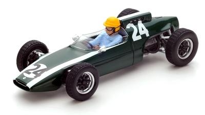 """Cooper T60 """"GP. Francia"""" nº 24 Tony Maggs (1962) Spark 1:43"""
