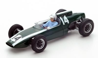 "Cooper T60 ""GP. Mónaco"" 14 Bruce McLaren (1962) Spark 1:43"