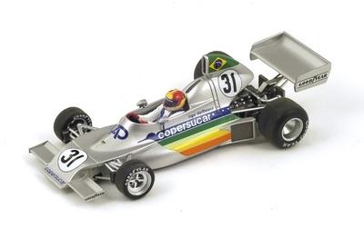 """Copersucar FD02 """"GP. Brasil"""" nº 31 Ingo Hoffmann (1976) Spark 1:43"""