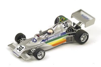 "Copersucar FD03 ""GP. Italia"" nº 30 Arturo Merzario (1975) Spark 1:43"