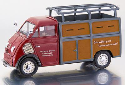 """DKW Furgoneta con caja """"Metzgerei"""" (1955) Premium Classixxs 1/43"""