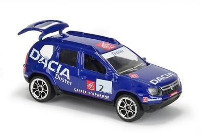 Dacia Duster nº 2 Andros Rácing (2011) Majorette 1/64