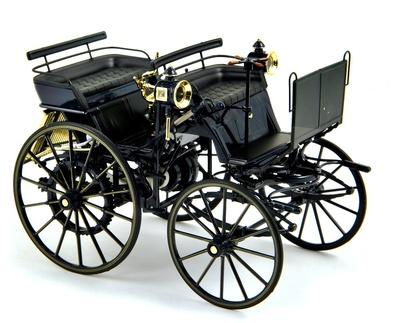 Daimler Carruaje Motorizado (1886) Norev 1:18