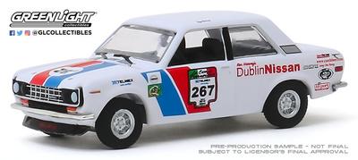 Datsun 510 (1972) nº 267 - La carrera panamericana de 2010 Greenlight 1/64