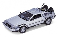 "De Lorean ""Regreso al Futuro I"" Welly 1:24"