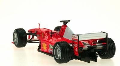 "Diorama Ferrari F1-2000 ""1º GP. Indianapolis"" nº 3 Michael Schumacher con figuras (2000) Microworld 1:43"