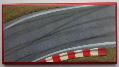 Diorama pista de carreras Microworld 1:43