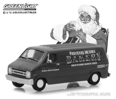 "Dodge B-100 ""Bakery"" (1977) Green Machine 1/64"