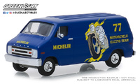 "Dodge B-100 furgoneta ""Neumáticos Michelin"" (1977) Greenlight 1/64"