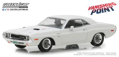 "Dodge Challenger R/T ""Vanishing Point"" (1970) Greenlight 1/43"