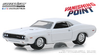 Dodge Challenger R/T de 1970 Vanishing Point (1971) Greenlight 1/64