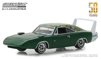 Dodge Charger Daytona (1969) Greenlight 1/64