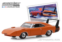 "Dodge Charger Daytona USPS ""American on the Movie"" (1969) Greenlight 1/64"