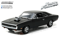 "Dodge Charger ""Fast & Furious"" (1970) Greenlight 1/18"