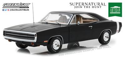 """Dodge Charger """"Supernatural"""" (1970) Greenlight 1/18"""