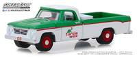 "Dodge D-100 ""Turtle Wax"" (1962) Greenlight 1/64"