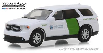 "Dodge Durango ""US. Custom and Border Protection Patrol"" (2018) Greenlight 1/64"