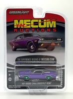 Dodge HEMI Challenger R/T Plum (1971) Green Machine 1/64