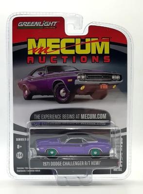 Dodge HEMI Challenger R/T Plum (1971) Green Machine 1/64