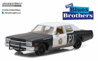 "Dodge Mónaco ""Blues Brothers"" (1974) Greenlight 1/24"