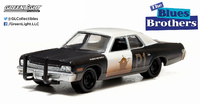 "Dodge Mónaco ""Blues Brothers"" (1974) Greenlight 1/64"