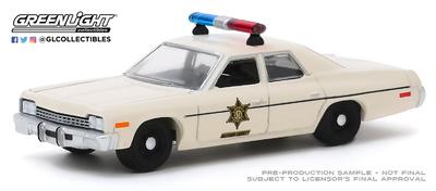Dodge Mónaco Hazzard County Sheriff (1975) Greenlight 1:64