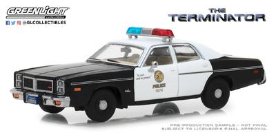 "Dodge Mónaco Policia Metropolitana ""Terminator"" (1977) Greenlight 1/43"