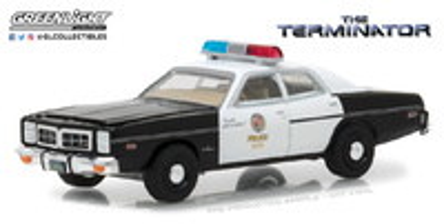 "Dodge Mónaco Policia Metropolitana ""Terminator"" (1977) Greenlight 1/64"