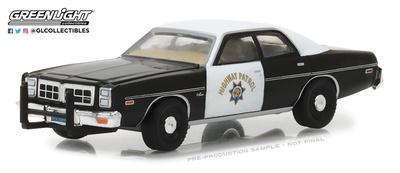 Dodge Monaco - California Highway Patrol (1978) Greenlight 1/64