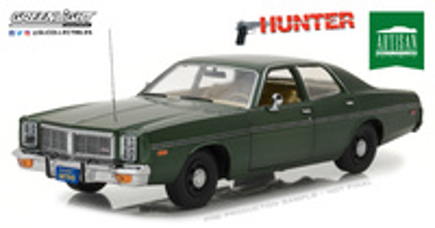 "Dodge Monaco ""Hunter"" (1977) Greenlight 1/18"