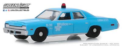 Dodge Monaco - Policia  de Montreal, Canadá (1965) Greenlight 1/64