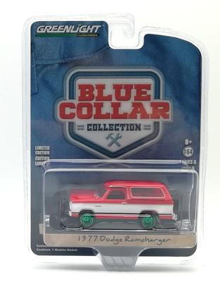 """Dodge Ramcharger """"Quitanieve"""" (1977) Green Machine 1/64"""