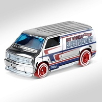 Dodge Van Custon -Super Chromes- (1977) Hot Wheels 1/64