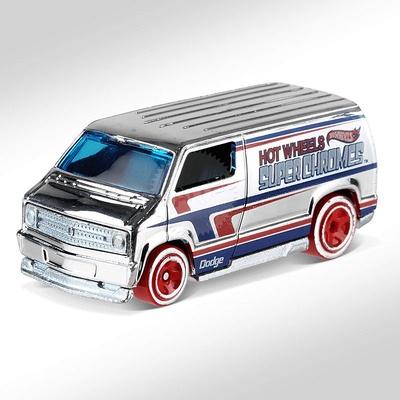 Dodge Van Custon -Super Chromes- (1977) Hot Wheels 1/64