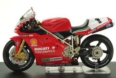 Ducati 996 nº 1 Carl Fogarty (1999) Altaya 1/24