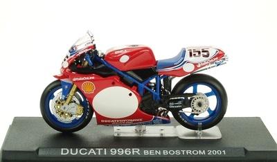 Ducati 996R nº 155 Ben Bostrom (2001) Altaya 1/24