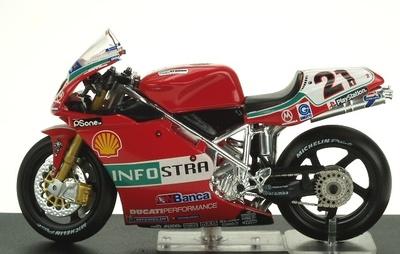 Ducati 996R nº 21 Troy Bayliss (2001) Altaya 1/24